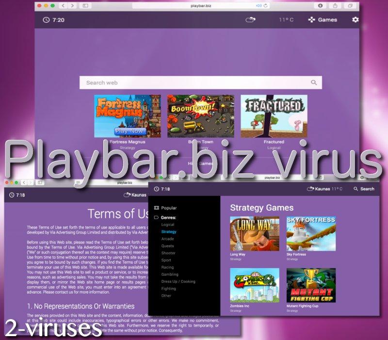 Playbar.biz virus