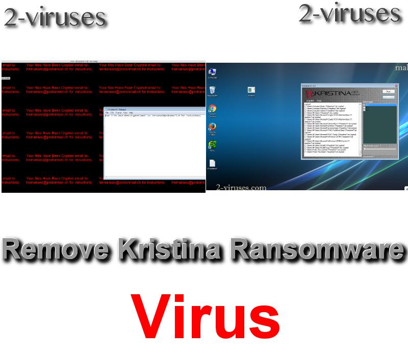 Kristina Ransomware virus remove
