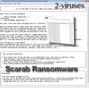 Scarab Ransomware