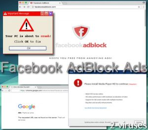 Facebook AdBlock Ads