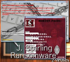 J. Sterling ransomware