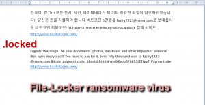File-Locker ransomware virus