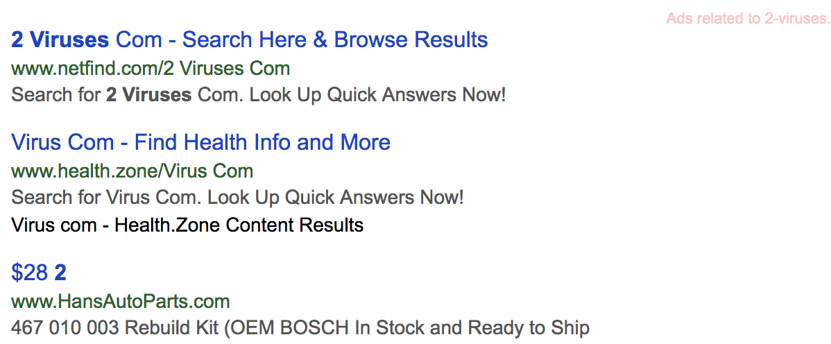 Aguea search results
