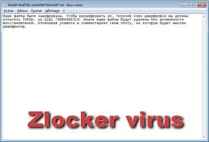 Zlocker virus