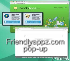 Friendlyappz.com pop-up