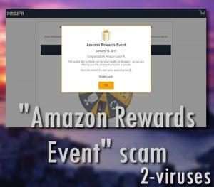 """""""Amazon Rewards Event"""" scam"""