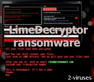 LimeDecryptor ransomware