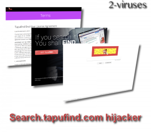 Search.tapufind.com hijacker