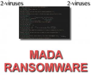 MADA Ransomware