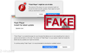 """""""Your Flash Player might be out of date"""" scam"""