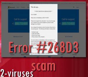 Error #268D3 Scam