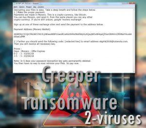 Creeper ransomware