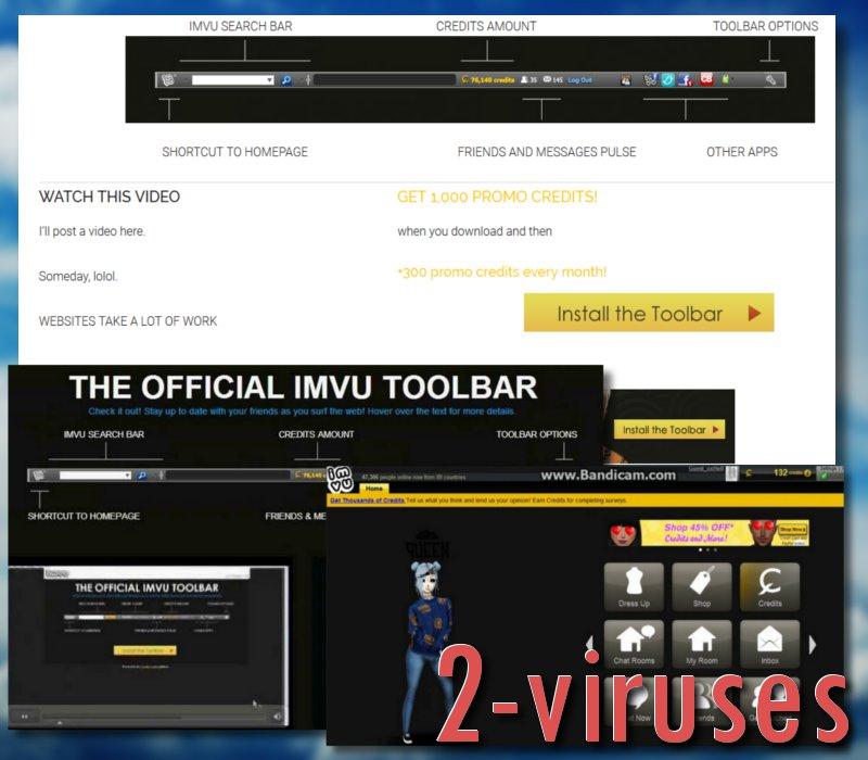IMVU Toolbar - How to remove - 2-viruses com