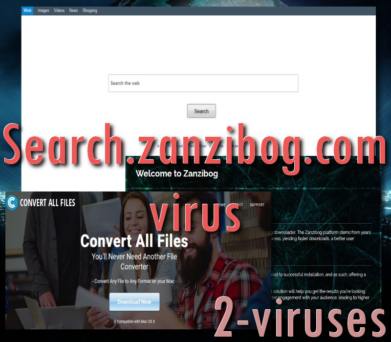 Search zanzibog com virus - How to remove - 2-viruses com