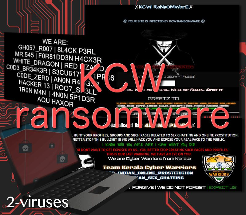 KCW ransomware - How to remove - 2-viruses com