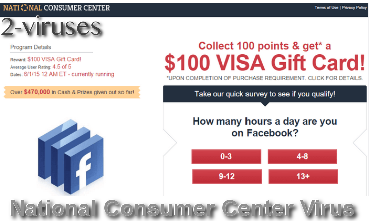 National Consumer Center Amazon Giveaway