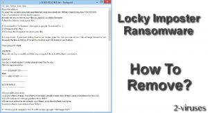 Locky Imposter Ransomware