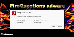 FireQuestions adware