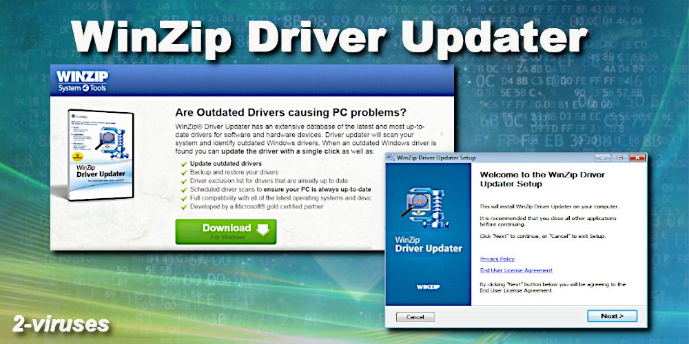 WinZip Driver Updater virus - How to remove - 2-viruses com