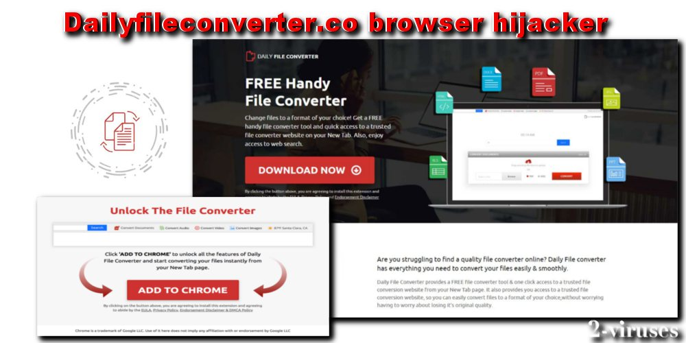 Dailyfileconverter co virus - How to remove - 2-viruses com
