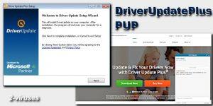 Driver Update Plus virus