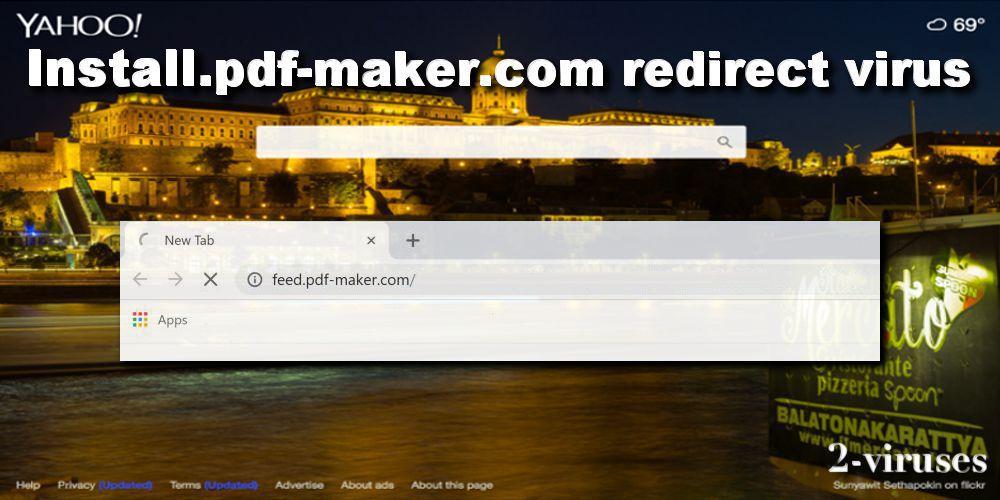 Install pdf-maker com redirect - How to remove - 2-viruses com
