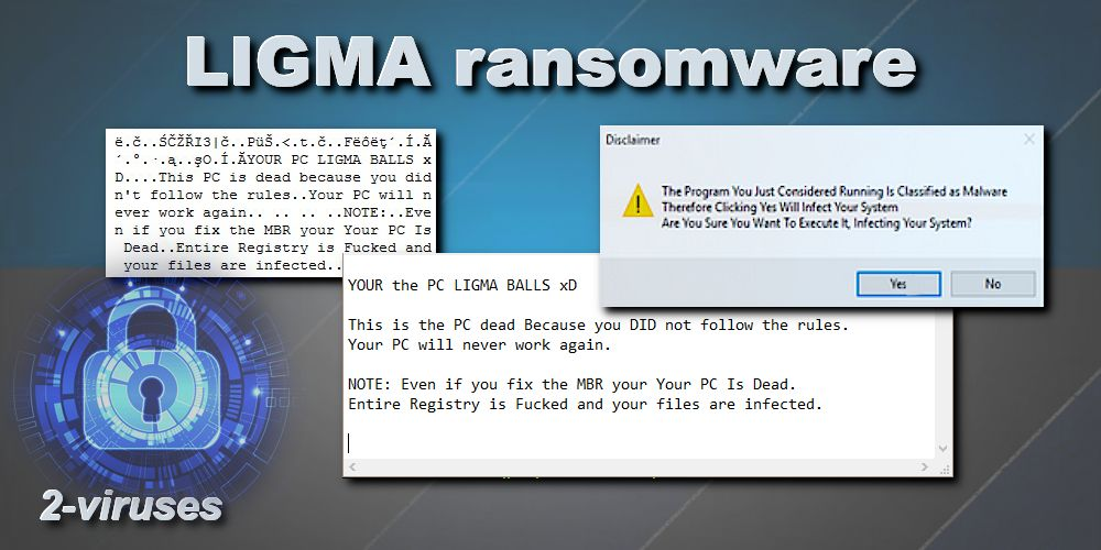 LIGMA virus - How to remove - 2-viruses com