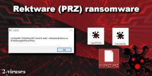 Rektware ransomware