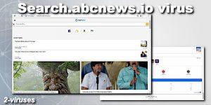 Search.abcnews.io browser hijacker
