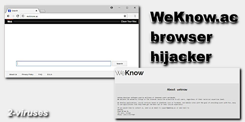 WeKnow ac virus - How to remove - 2-viruses com