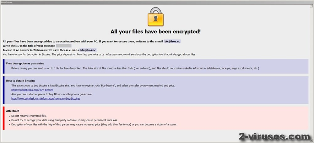 Dharma-Btc Virus - How to remove - 2-viruses com