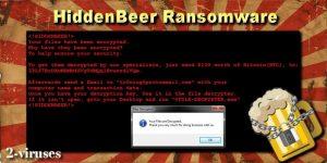HiddenBeer ransomware