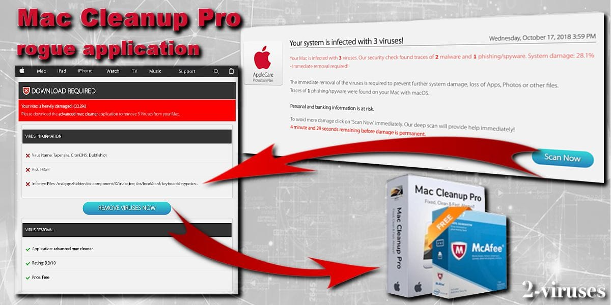 Mac Cleanup Pro virus - How to remove - 2-viruses com