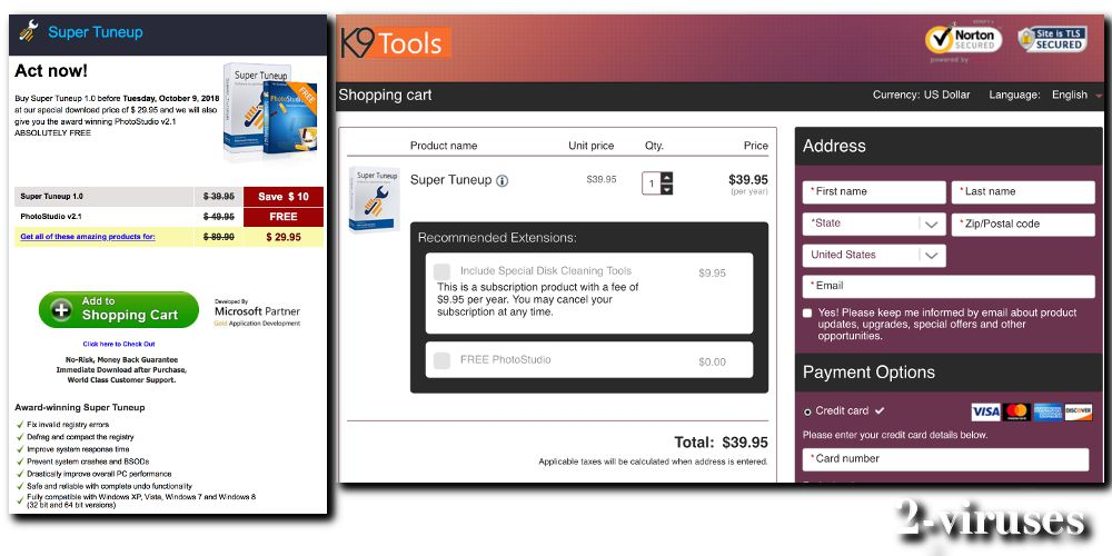 Tune Up Prices >> Super Tuneup Pup How To Remove Dedicated 2 Viruses Com