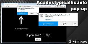 Acadestypicallic.info pop-up