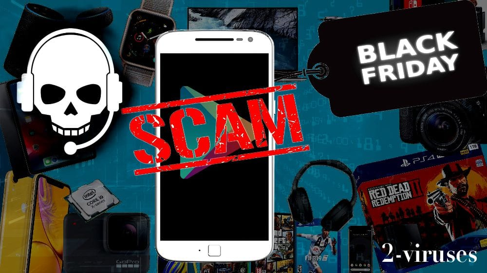Fake Black Friday's Apps Scamming Customers