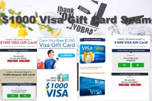 00 Visa Gift Card Scam