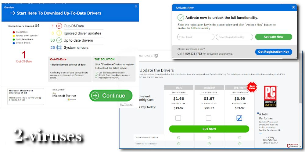DriverUpdate PUP - How to remove - 2-viruses.com