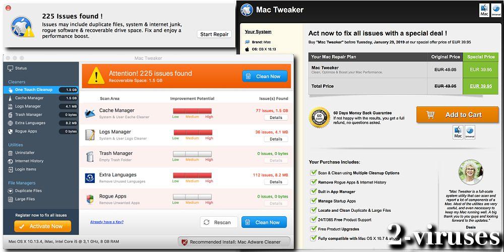 Mac Tweaker PUP - How to remove - 2-viruses com
