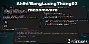 Ahihi ransomware