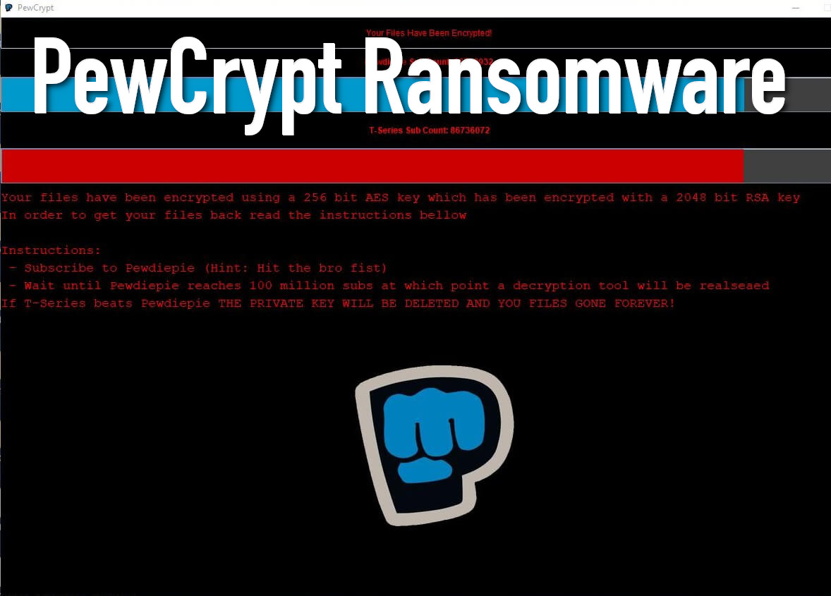 PewCrypt Ransomware - How to remove - 2-viruses com