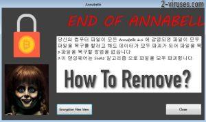 Annabelle 2.1 Virus