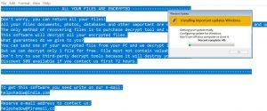 DJVU Virus (Ransomware)