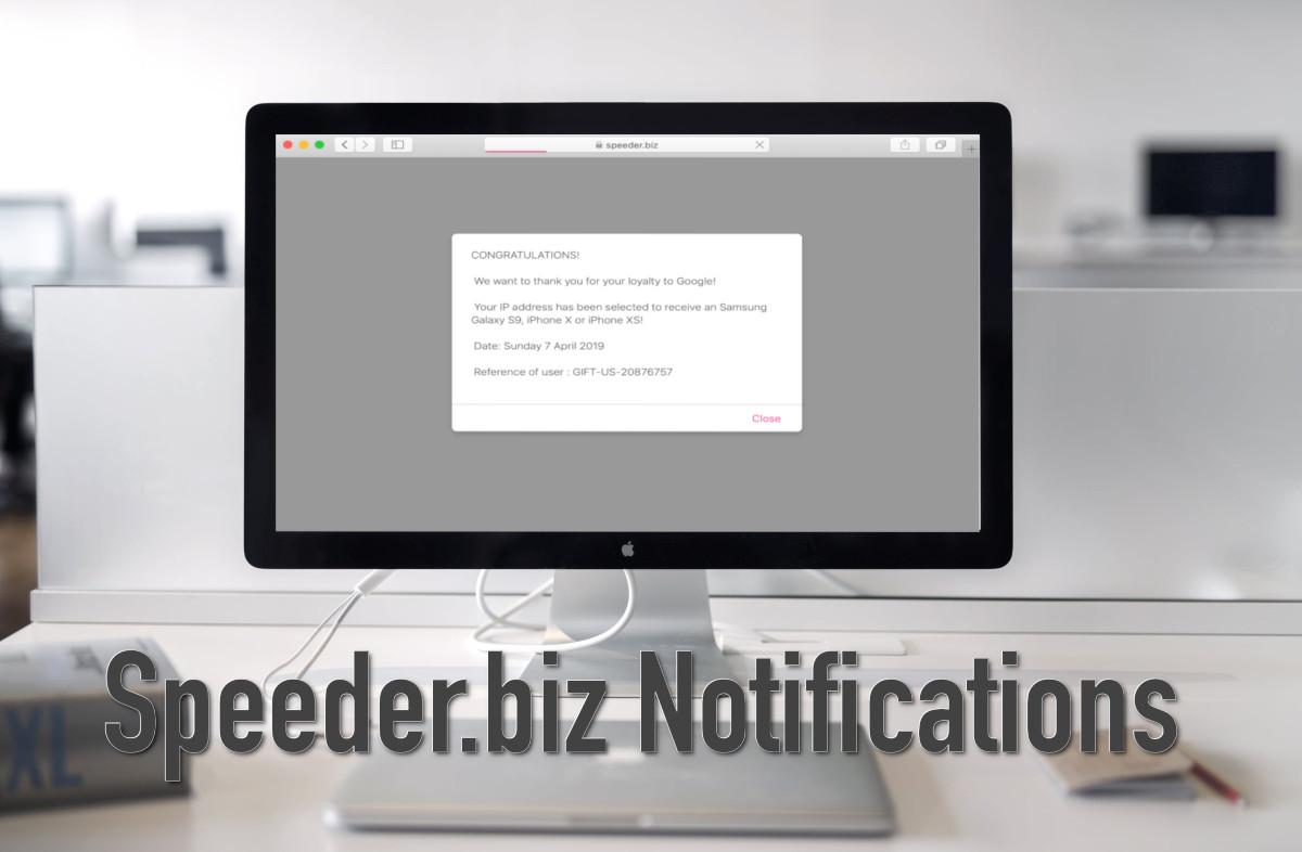 Speeder biz Notifications - How to remove - 2-viruses com