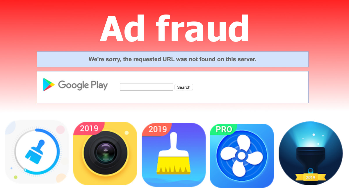 Ad fraud by apps installed by millions