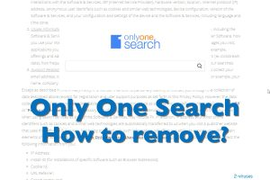Only One Search