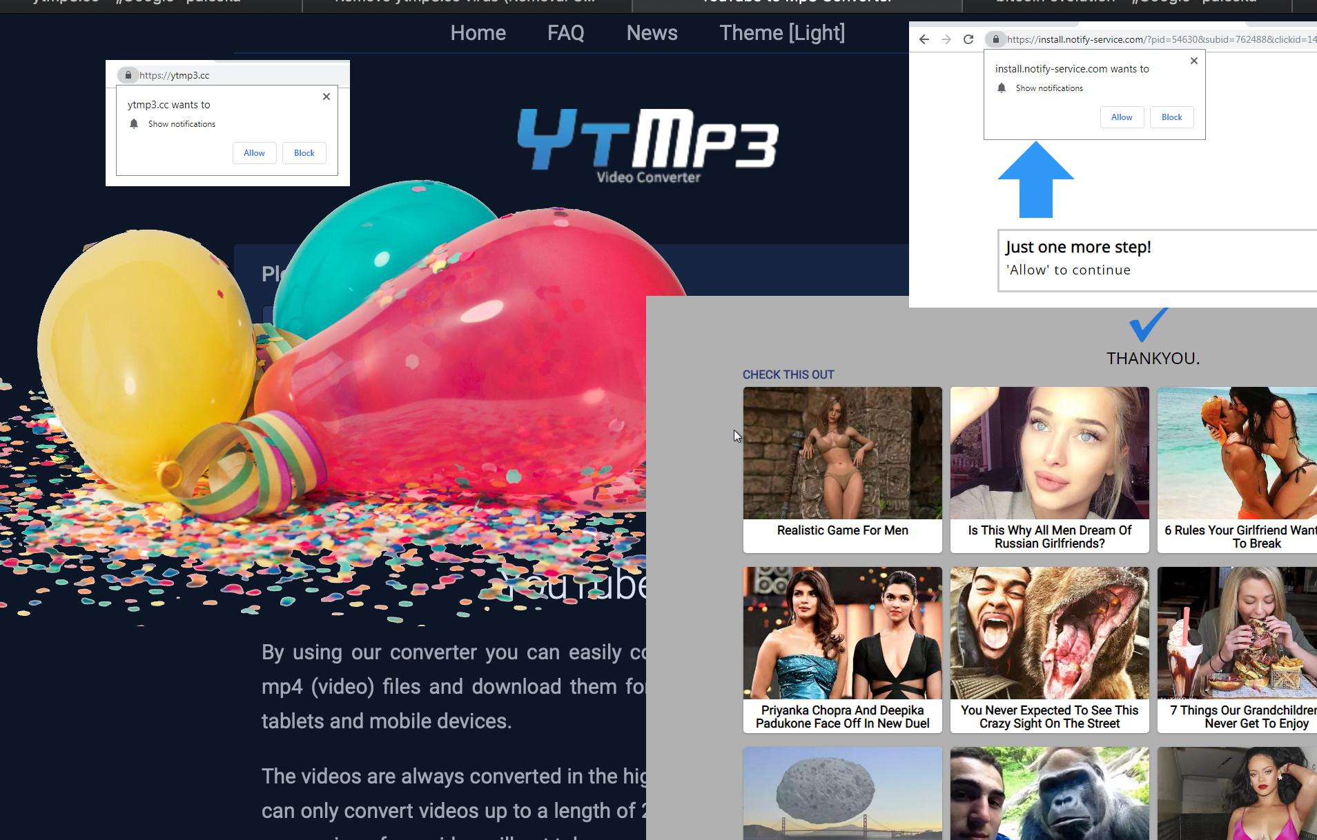 YTMp3 cc Virus - How to remove - 2-viruses com