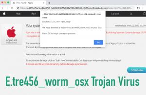 E.tre456_worm_osx Trojan Virus