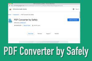 PDF Converter by Safely