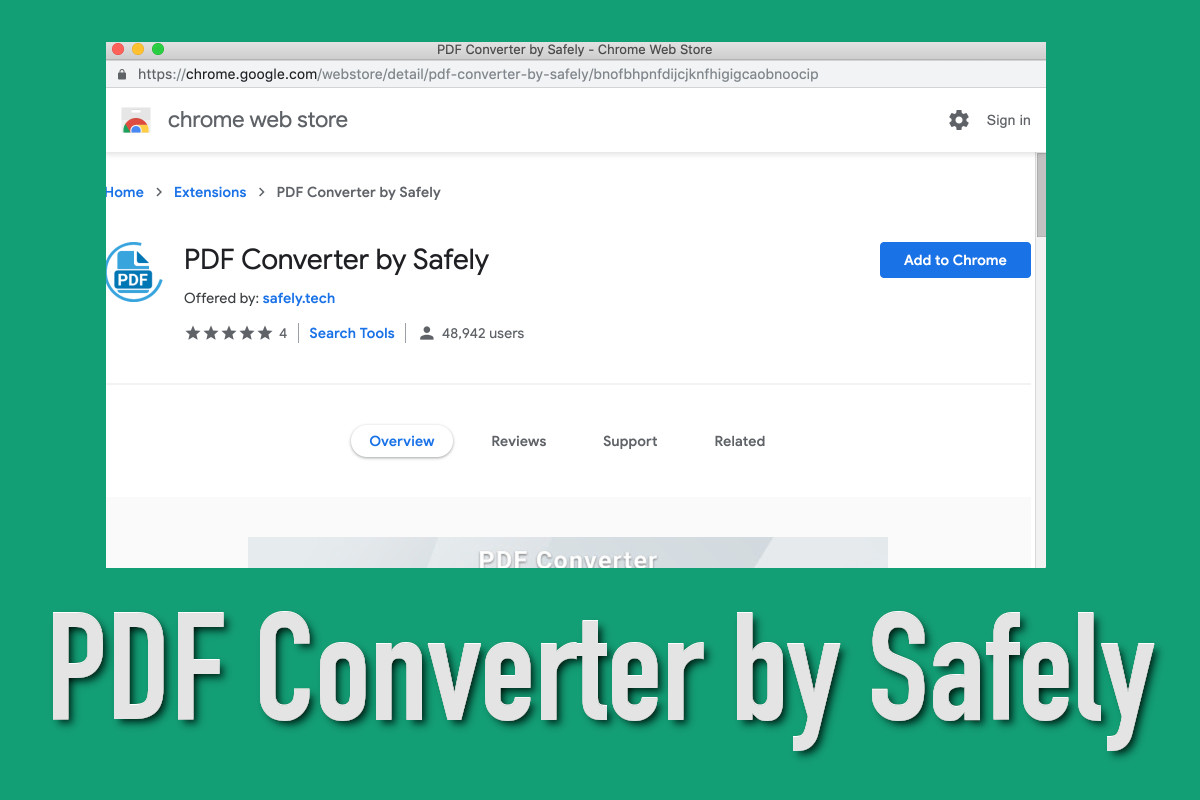 PDF Converter by Safely - How to remove - 2-viruses com